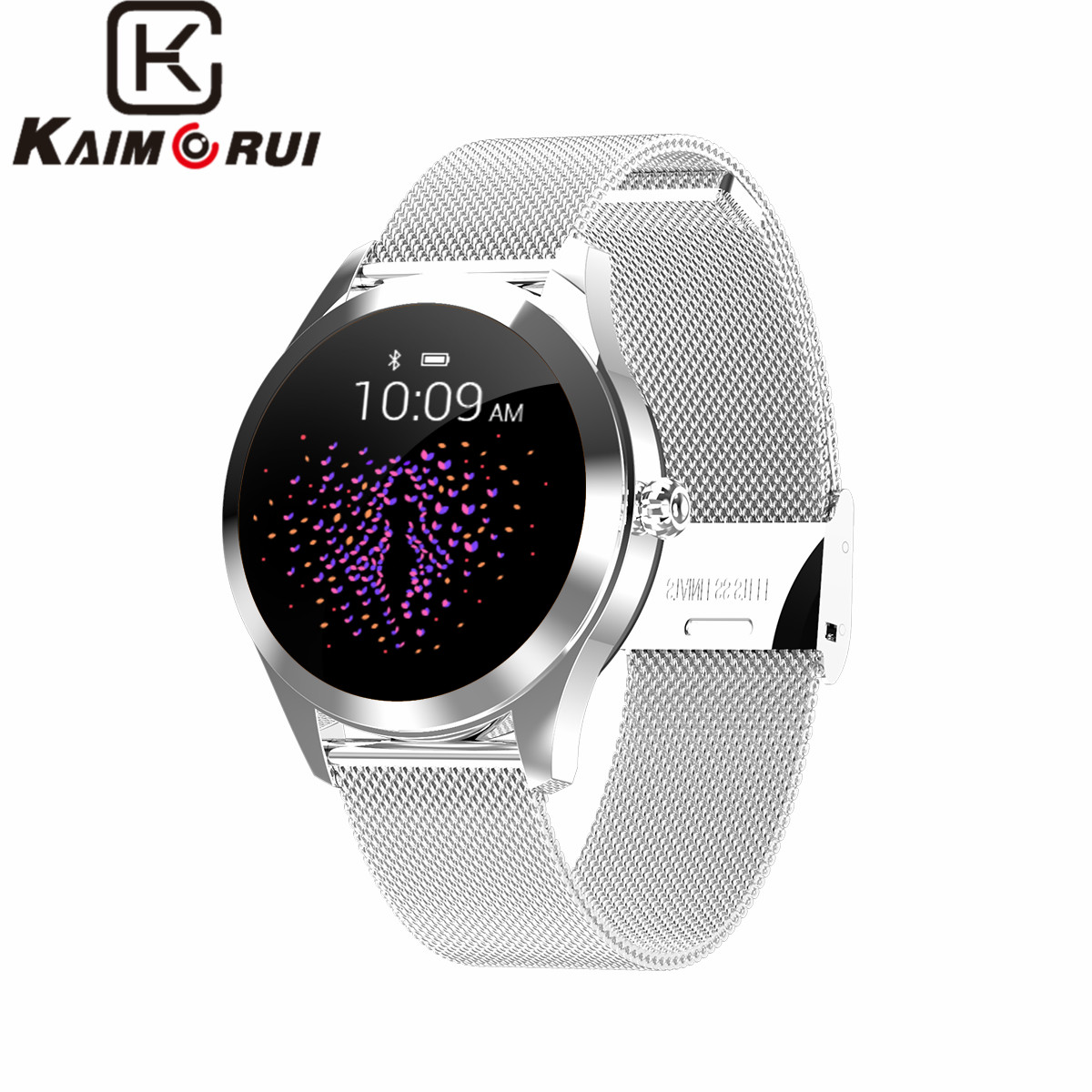 Wristband wat Women IP68 Waterproof Heart Rate Monitor Stainless Band for Xiaomi Android IOS Fitness Bracelet Watch Smart WatchWristband wat Women IP68 Waterproof Heart Rate Monitor Stainless Band for Xiaomi Android IOS Fitness Bracelet Watch Smart Watch