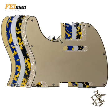 Pleroo Guitar accessories left handed Pickguards For American Standard Tele Telecaster guitar 8 Screw Holes Guitar Scratch Plate newest arrival china oem satin cherry finish lpj electric guitar left handed guitar custom available