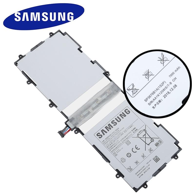 OEM  3.7V Battery SP3676b1A 1s2p 7000mAh for Samsung Galaxy Tab 10.1 GT P7500 AS