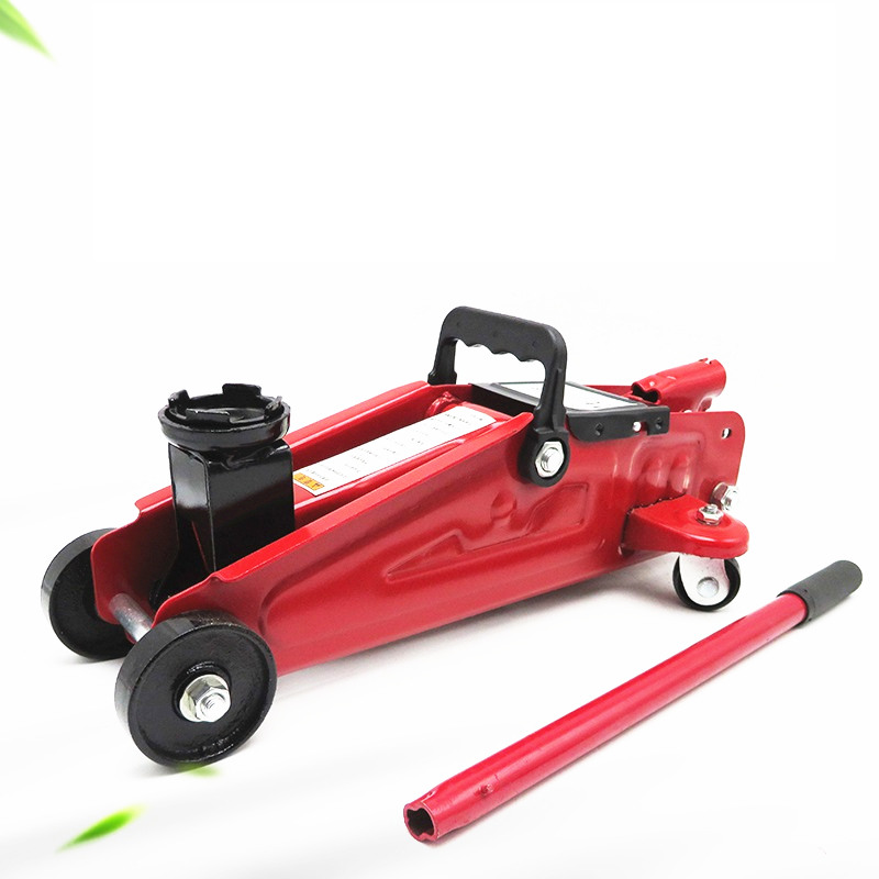 High Quality Car 2 Ton Horizontal Hydraulic Jack 2T Use Change Tire Car Lifting Jack Jack-up With Wheels