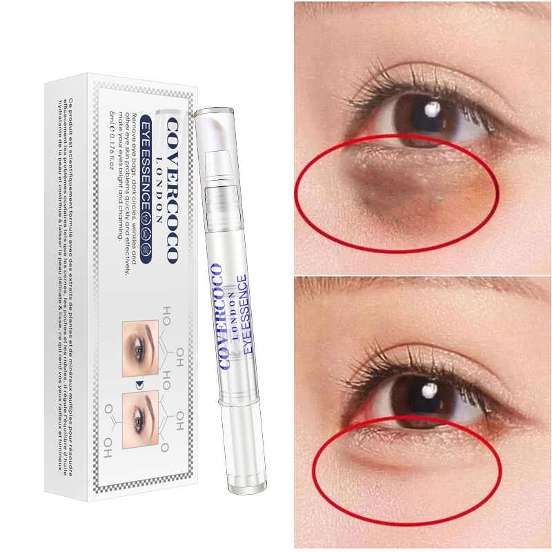 10 Ml Air Cahaya Jarum Asam Hyaluronic Eye Essence Di Bawah Krim Mata Anti Aging Anti Kerut Gelap Lingkaran Removal Cream TSLM2