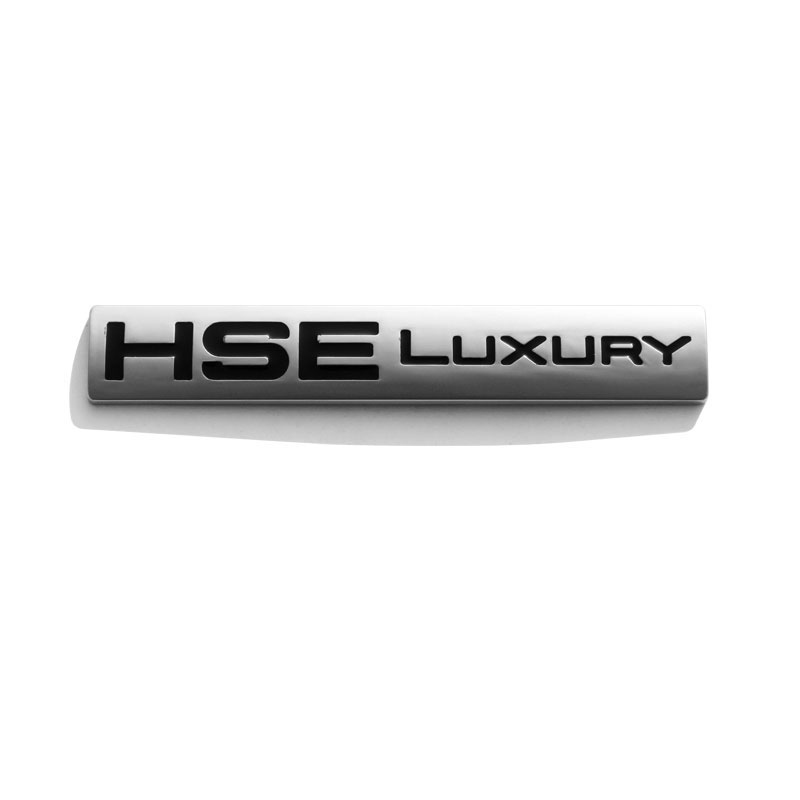 HSE LUXURY Emblem Badge For Land Rover Discovery Sport Car-styling ABS Chrome Accessories and parts car styling abs chrome car door cover decoration trim strips car interior mouldings for land rover discovery 4 2010 2016