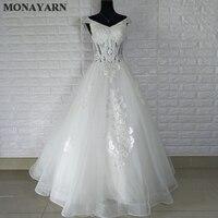 Fashion wedding dress collar lace pearl wedding dress jersey 2017 sexy white bride dress Vestido De Noiva