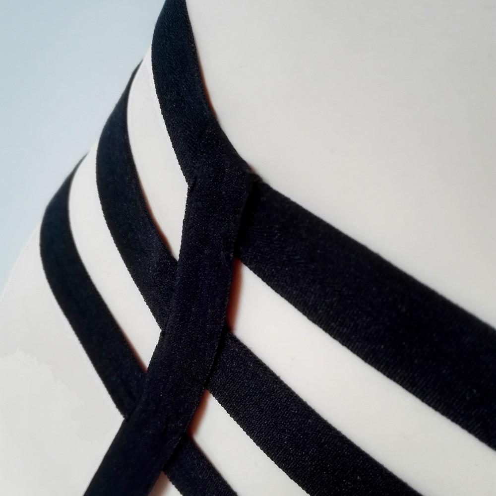 Новинка, женские сексуальные эластичные подвязки для ног, пустотелые подвязки, черные подвязки для ног, подвязки, нижнее белье