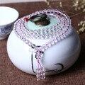 Nueva llegada de 6mm de cristal perlas pulseras hombres mujeres 108 cuentas de piedras naturales yoga pulsera de regalo de navidad