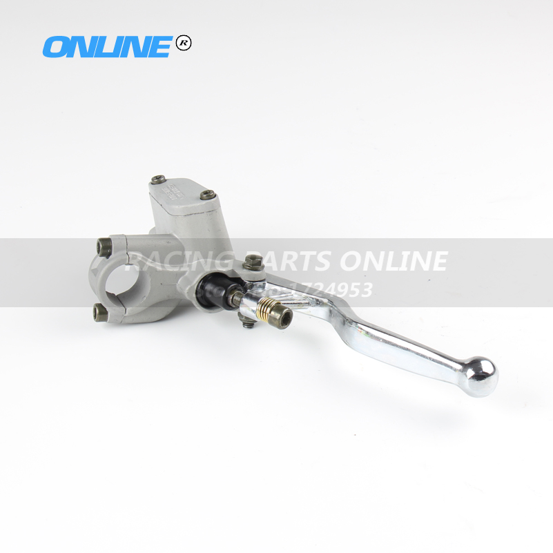 Front Brake pump brake master cylinder pump lever right side M10 refitted for CRF KLX pit bike dirt bike motorcycle motorcross sclmotos cnc folding brake lever clutch lever with front pump fit motorcycle dirt pit bike motorcross crf klx yzf rmz refit part