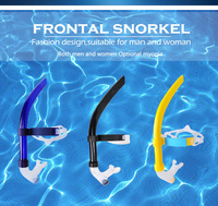 Silicone Diving Breathing Snorkel Underwater Scuba Diving Tube Mouthpiece Swimming Snorkel