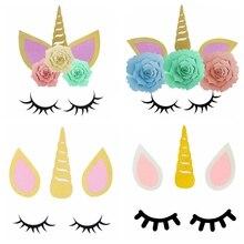 buy unicorn eyelashes diy and get free shipping on aliexpress com