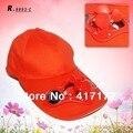 Adultos sombrero gorra de Béisbol Doble disco de Alta potencia solar 2800 a su vez 5 opciones de color Ajustable tamaño de Los Niños también se aplican