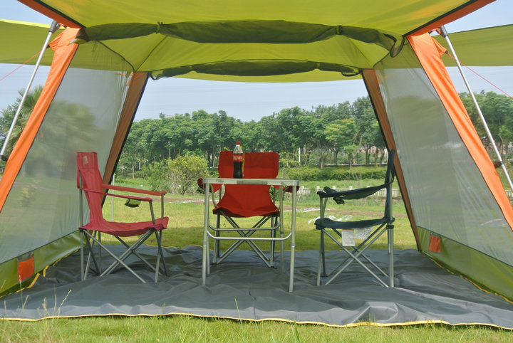 New Style High Quality Large Size Super Strong Camping Outdoor Beach Gazebo Party Family Tent In Tents From Sports Entertainment On Aliexpress