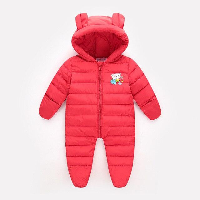 80fff5d21 0-18 M Infantil Mamelucos Del Bebé Caliente de Espesor de Invierno Ropa de  Bebé