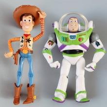 Juguete historia 3 Woody Buzz Lightyear PVC figura de acción juguetes en caja  niño juguete regalo 3abe3375fb1