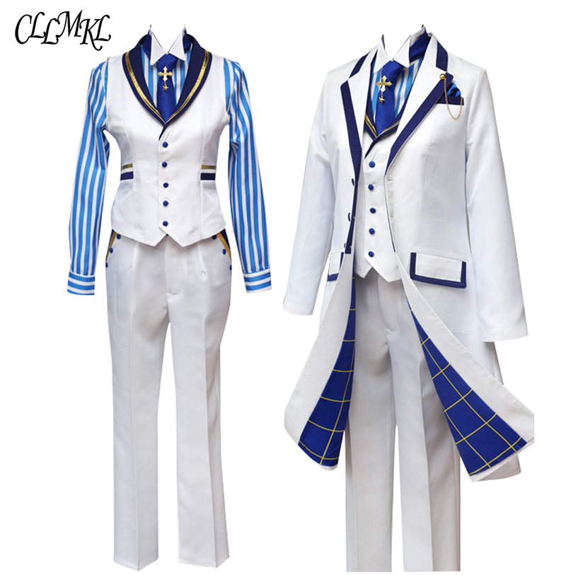 Image 2 - Fate Grand Orde  FGO Saber King Arthur Cosplay Costume Outfit Pendragon White Rose King of Knights Cosplay-in Anime Costumes from Novelty & Special Use