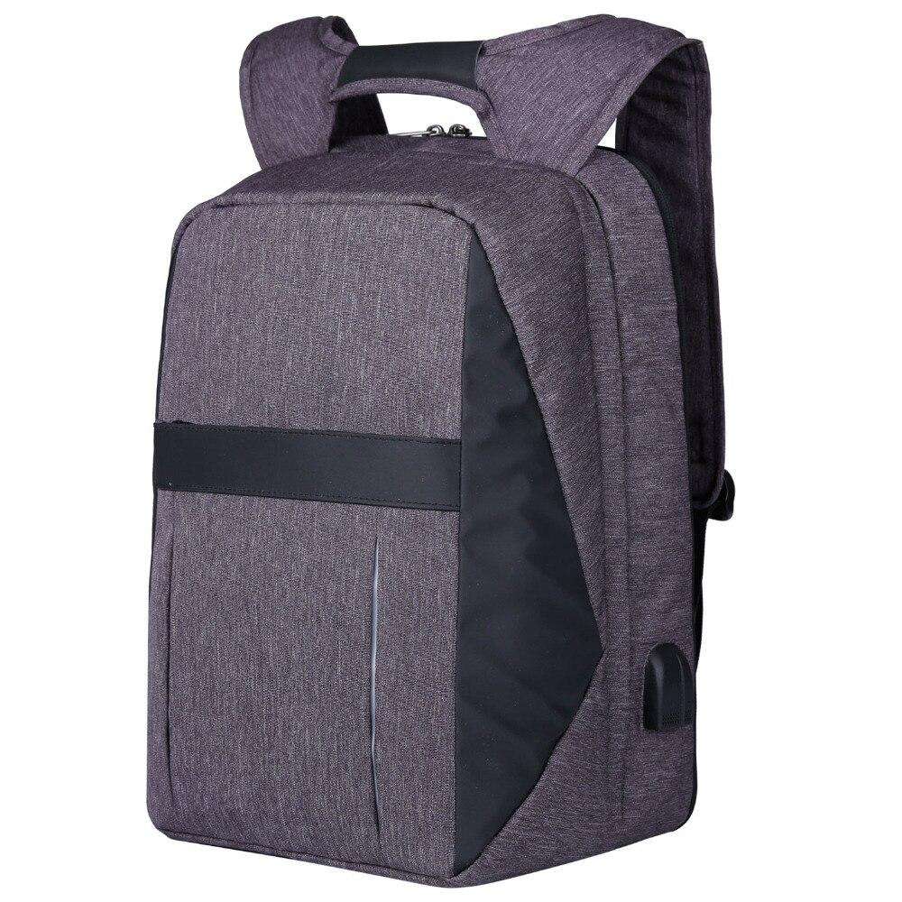 XQXA un sac à dos deux Styles ordinateur 17 pouces sac à dos pour ordinateur portable sac couche avant amovible changement d'espace à tout moment