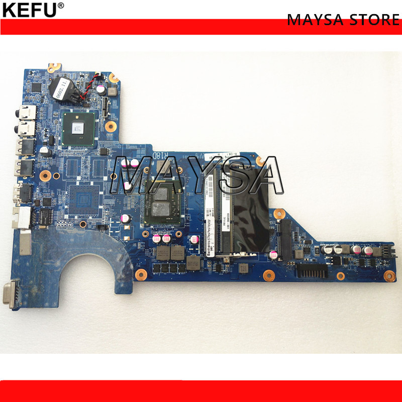 Original 655990-001 Main board DDR3 Fit for HP Pavilion G4 G7 G6 Series Notebook PC motherboard 100% working 638856 001 da0r22mb6d1 d0 fit for hp pavilion g4 g6 g7 notebook motherboard tested working