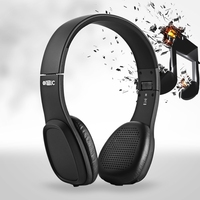 L5 Wireless Foldable Touch Controlled Bluetooth Headphones Stretchable Headband Portable Design Headset Classic retro