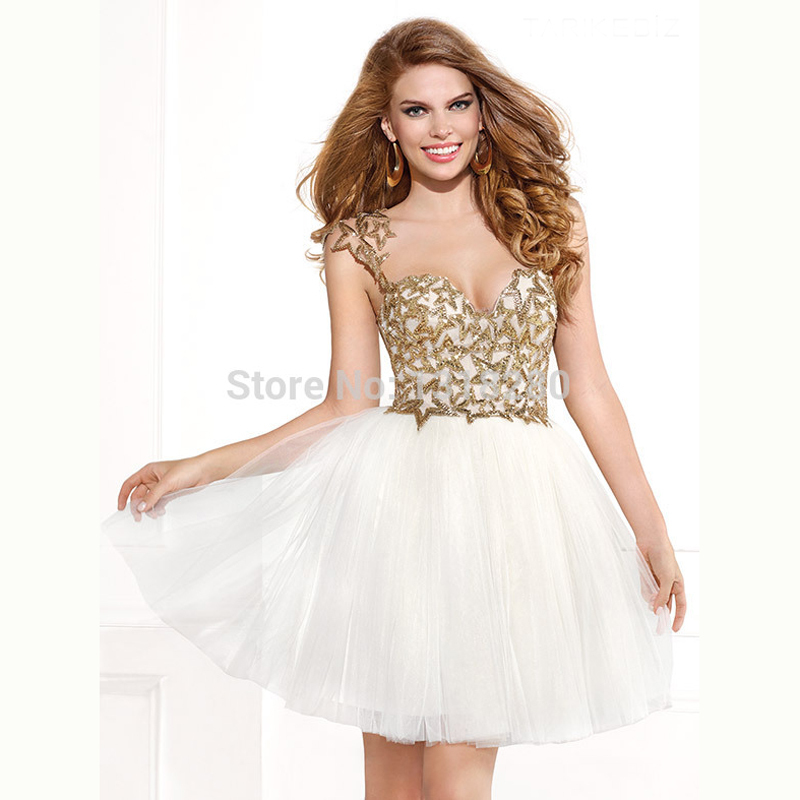 Popular Gold Homecoming Dresses-Buy Cheap Gold Homecoming Dresses ...