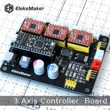 EleksMaker-Mana  3 Axis stepper motor drive control board for CNC Arduino GRBL/Benbox laser engraving machine Plotter Dispenser