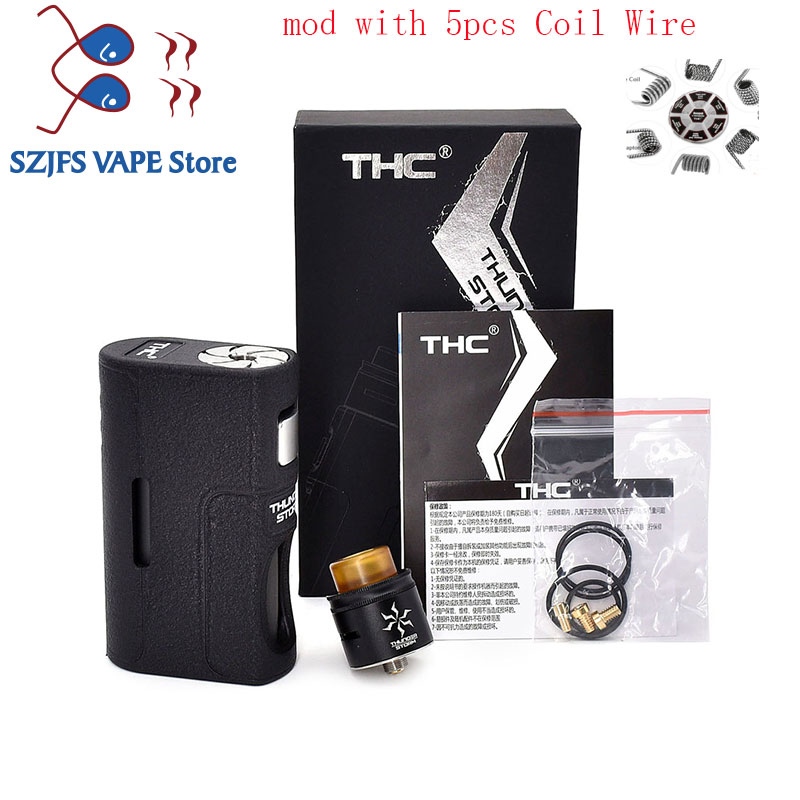 E Cigarette THC Storm BF Box Mod Feeder Bottom Squonk Mods Vape Mechanical Mod E Cigarette 18650 20700 21700 Vape Vaporizador