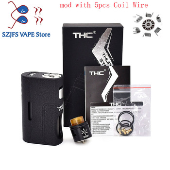 цена на E Cigarette THC Storm BF Box Mod Feeder Bottom Squonk Mods Vape Mechanical Mod E Cigarette 18650 20700 21700 vape Vaporizador