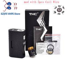 Najnowszy Gorilla Squonk Box Mod dla ABS zbiornik Mech dolny podajnik Mod styl Atomizer nr 18650 i 20700 baterii E- cig vape modów pudełkowych tanie tanio SUB TWO Mechaniczne Mod CN (pochodzenie) Kształt skrzynki Z tworzywa sztucznego THC Thunder Storm BF Kit Box Mod THC Thunder Storm BF KitBox Mod