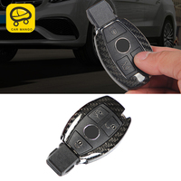 CarManGo For Mercedes Benz GLE ML GL GLS Car Key Case Cover Protector Carbon Fiber Cover High Quality
