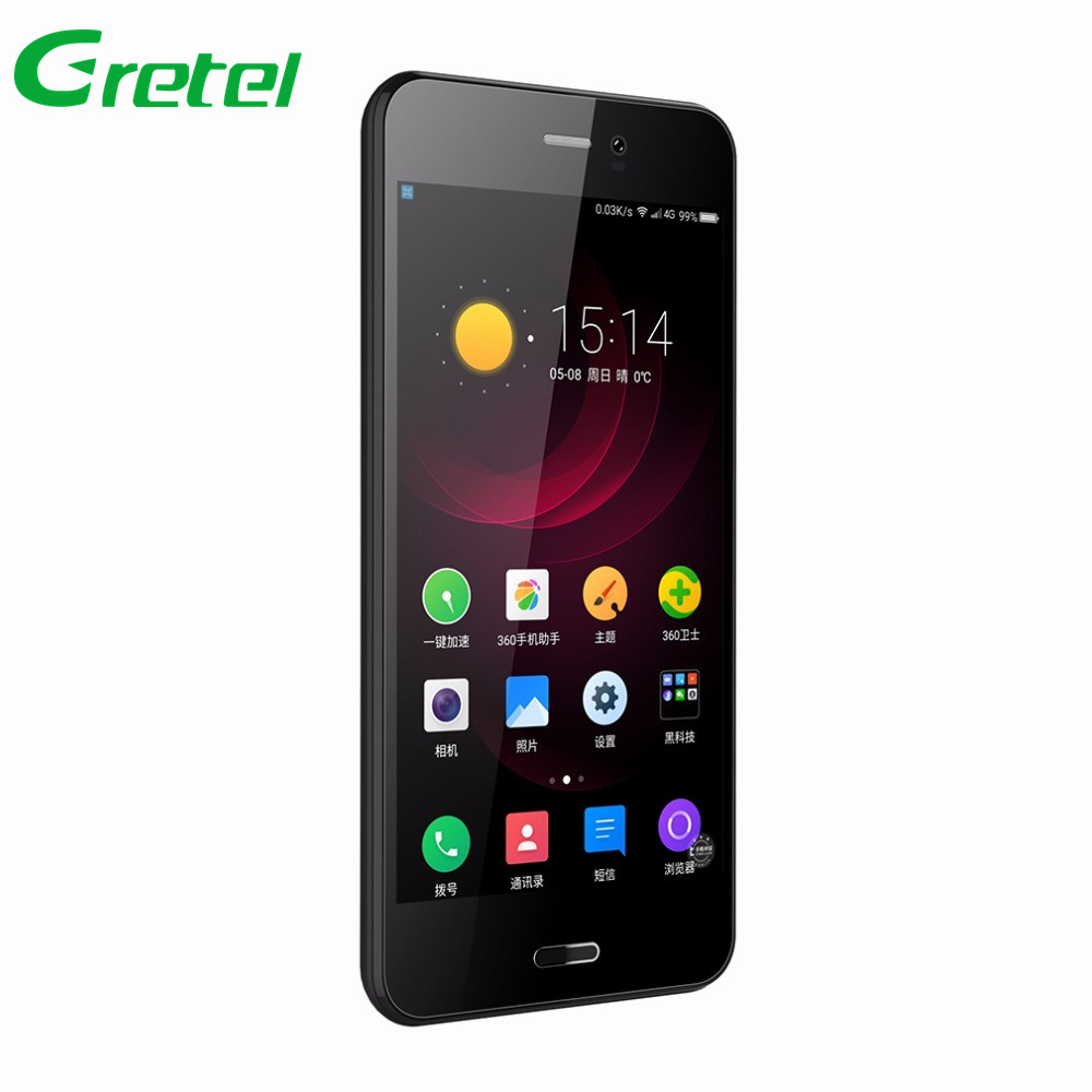 Gretel A7 4.7'' Quad Core Android 6.0 MT6580 1 GB RAM 8GB ROM 8.0 MP Camera Dual SIM GPS 3G Mobile Phone