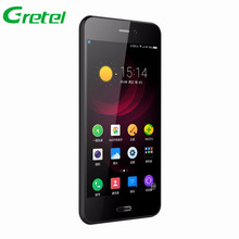 "Gretel A7 4,7 ""Quad Core 3G Handy Android 6.0 MT6580 1 GB RAM 8 GB ROM Smartphone 8,0 MP Kamera Dual SIM GPS Handy"