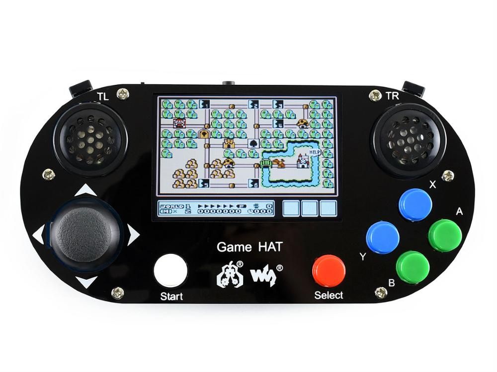 Game HAT for Raspberry Pi make your own game console