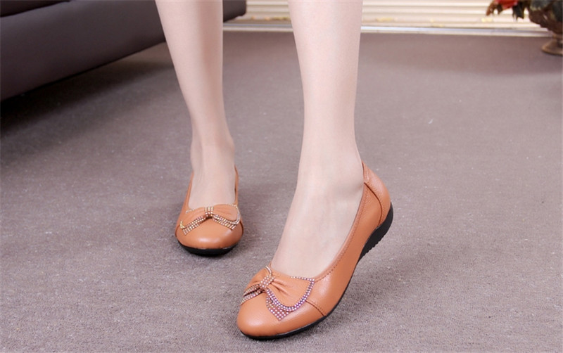 ФОТО ICONFEEL BRAND Flats In Women Shoes Spring 2017 Ballet Flats Slip on Zapatos Mujer Hombre Shoes Plus Size Sweet Dance Shoes