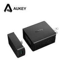 AUKEY USB Fast Charger 29W PD Type C + 3A USB Fast Charging Mobile Phone Charger for Samsung Galaxy S9 8 Plus iPhone X 8 7 iPad