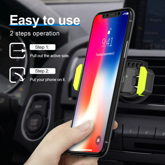 Car Phone Holder for iPhone and Samsung