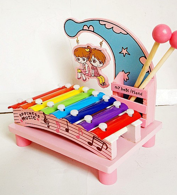 New wooden toy Serinette Infant Intelligence toysbaby educational toy baby gift  Free shipping