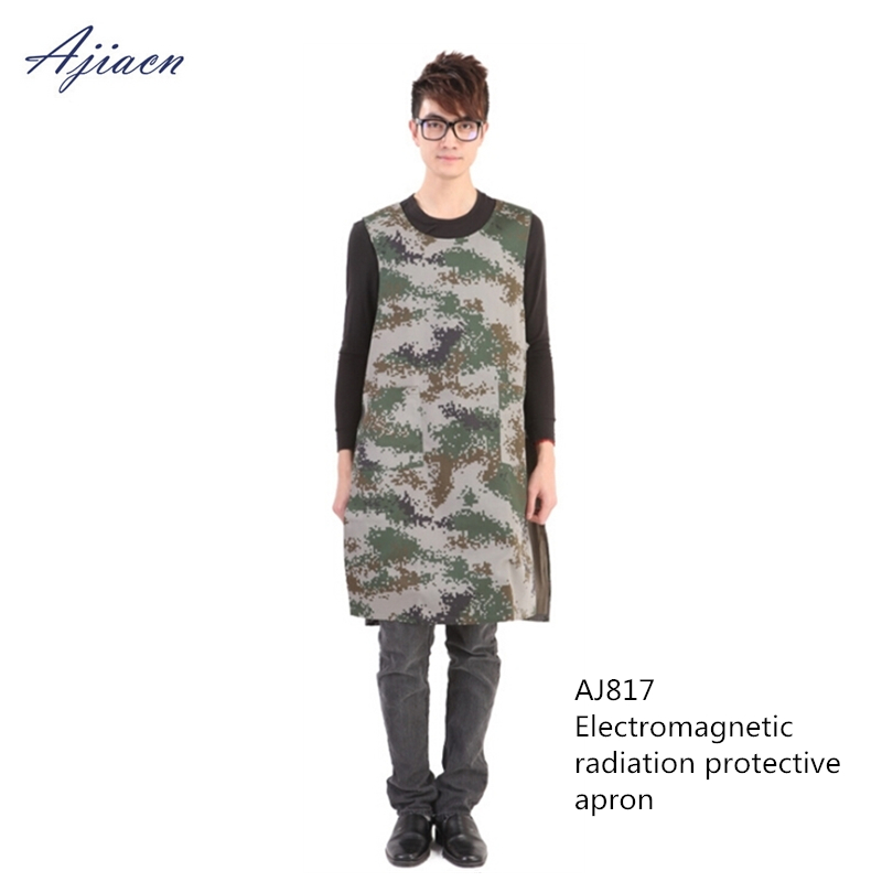 Ajiacn New arrivals electromagnetic radiation protective apron Laboratory and Power station EMF shielding Double-sided long vestAjiacn New arrivals electromagnetic radiation protective apron Laboratory and Power station EMF shielding Double-sided long vest