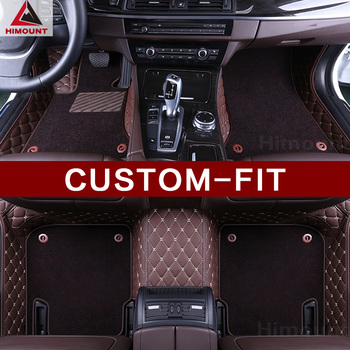 Custom fit car floor mats for Toyota Prius V/ Prius Alpha/ Prius+ Prius C Aqua full cover car-styling carpet rugs luxury liners image