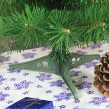 60cm Artificial Christmas Tree with Plastic Stand Holder Base for Christmas Home Party Decortaion
