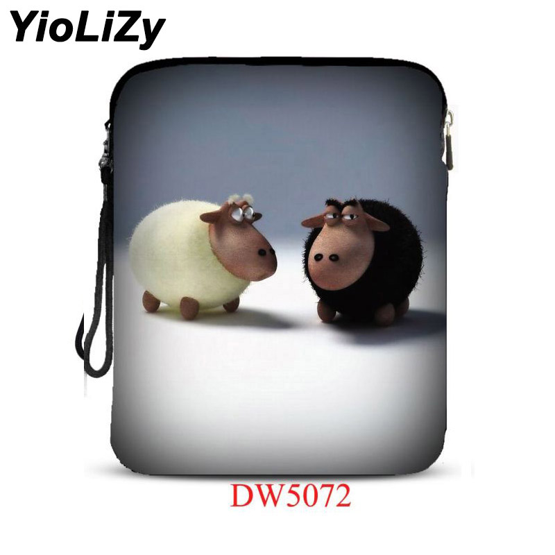sheep print 9.7 inch laptop bag Cover tablet bag Ultra-thin Smart notebook Case pouch For iPad Air pro mini 9.7 IP-5072