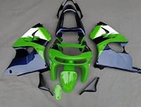 ZX6R 98 99 Motorcycle Fairing Kit For Kawasaki Ninja ZX 6R ZX-6R 1998 1999 Injection Molding Fairings Set Black Green Cowl