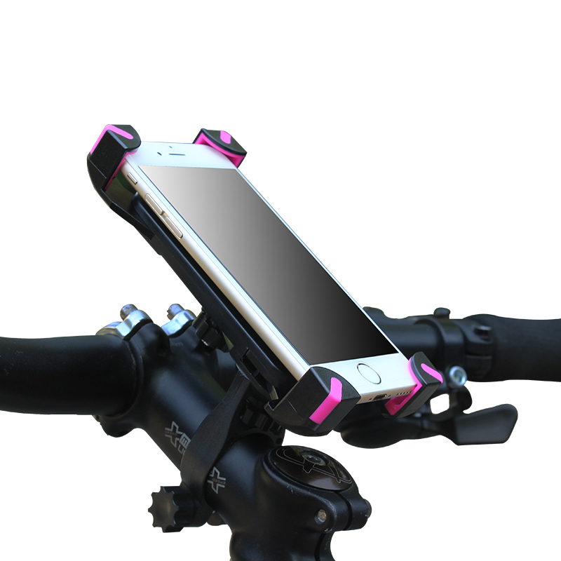 Mountain bike mobile phones support electric motorcycle frame general rotate 360 degrees navigation equipment <font><b>accessories</b></font>