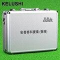 Caixa de ferramentas de hardware de rede de fibra óptica FTTH caixa de ferramentas caixa de junção fria KELUSHI vazio placa de Alumínio Branco