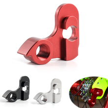 Foldable Bicycle Bike Rear Derailleur Tail Hook Cycling Aluminum Alloy Modified Hanger Accessories