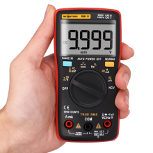 RM111 NCV True-RMS Digital Multimeter Auto Range 9999 counts 100M Ohm все цены