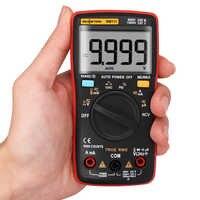RM111 NCV True-RMS multimètre numérique portée automatique 9999 compte 100M Ohm
