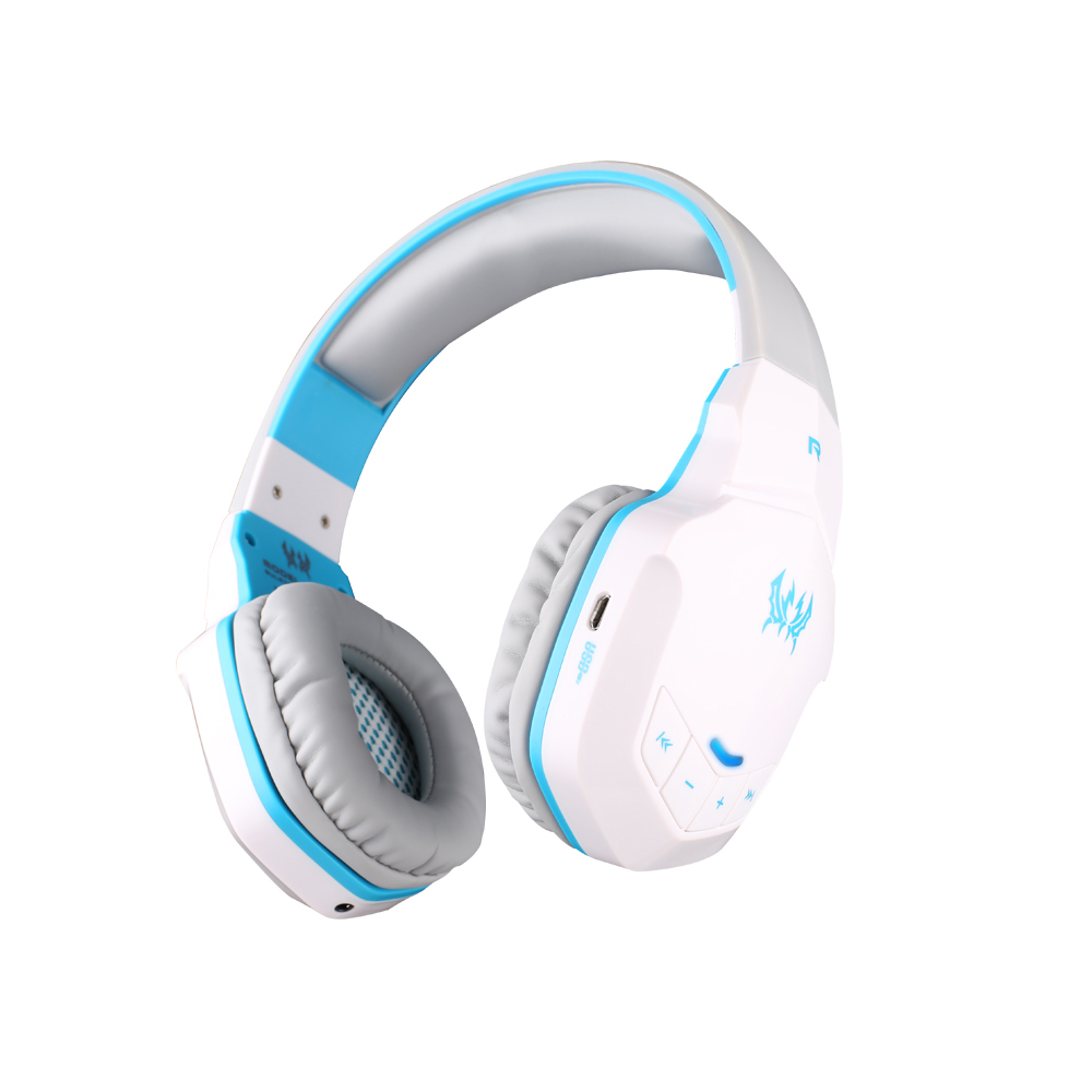 New Wireless Bluetooth Stereo Gaming Headphones Headset EACH B3505 With AUX Volume Control Microphone HiFi Music
