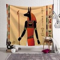 Retro Tapestry Mandala tapestry Indian hanging Ancient Egypt Tenture Murale mandala Blanket Wall Hangings mandalas Art Crafts