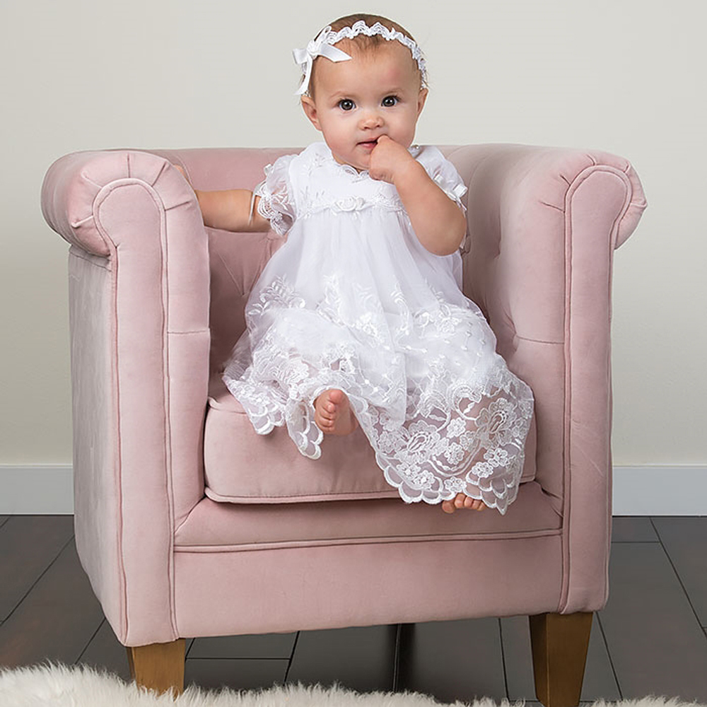 Snap Online Buy Wholesale silk christening gown from China silk ...