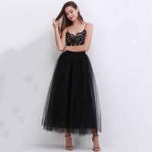 f9fcbe2b7e 100 cm nuevo llegan mujeres Vestidos de tul faldas 2018 piso longitud faldas  Tutu adultos boda Lolita fajas de dama de honor fal.
