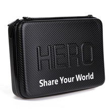 цена на Carring Bag Waterproof Case For Xiaomi Yi 4K for Gopro Hero7 Hero6 Hero5 Hero4 3 SJCAM Sj4000 EKEN H9 Sport Camera Accessories