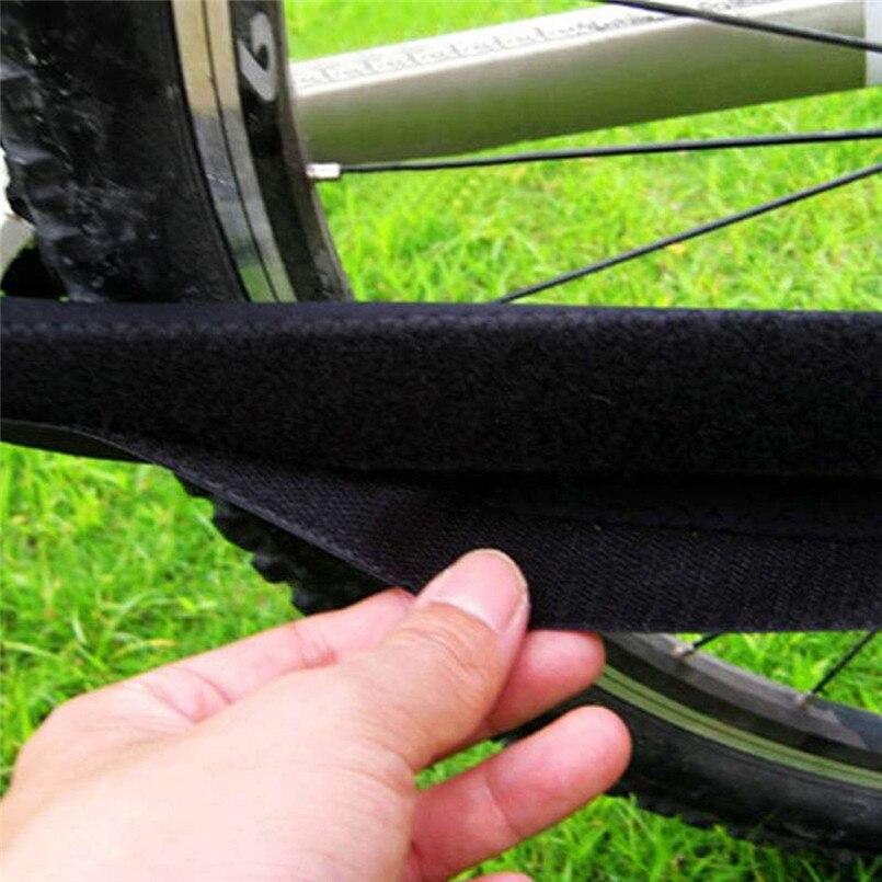 Cadena duradera para el cuidado de la bicicleta con protectores para proteger el protector de la caja negra 2017 accesorios de bicicleta