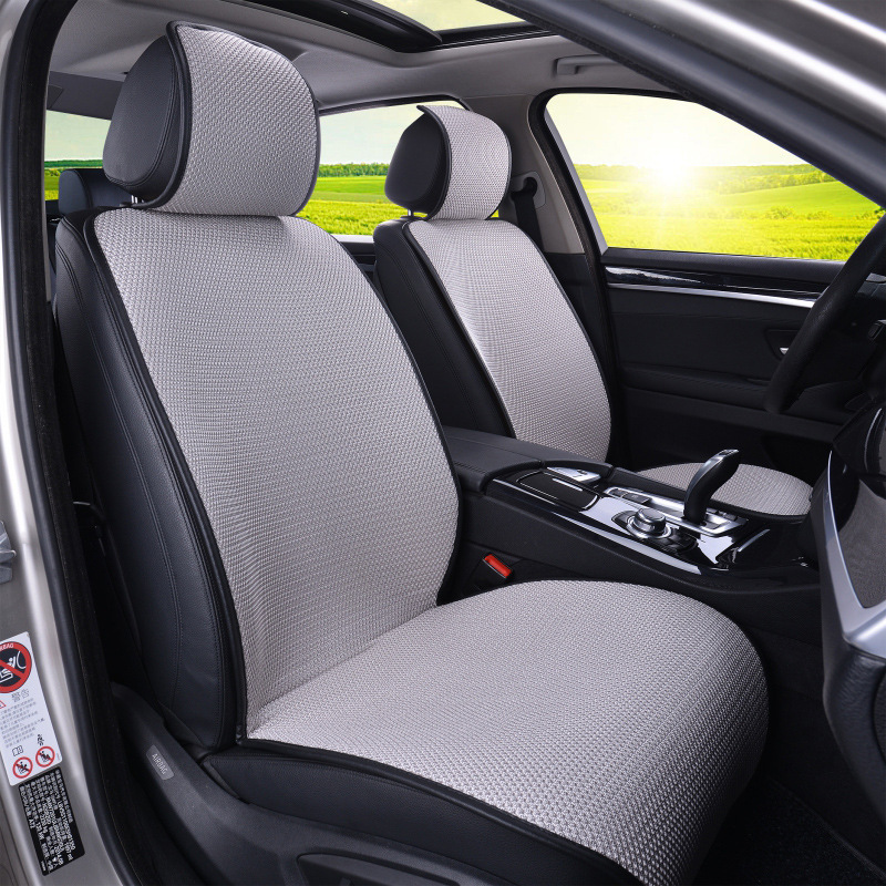 Cushion Seat-Covers Seat-Protector Interior-Accessories Linen Universal Auto Car-Styling